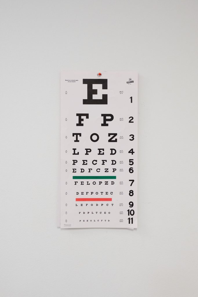 проверить зрение