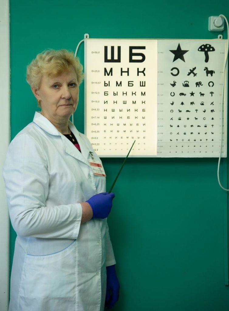 врач-офтальмолог в жлобине